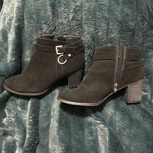 Michael By Michael Shannon Black Suede Boot 10